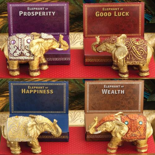 Decorative Mini Elephants-Personalized Gifts for Men-JadeMoghul Inc.