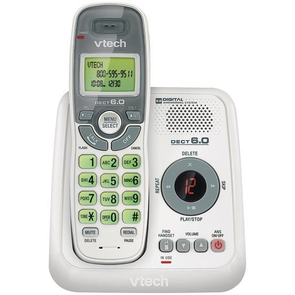 DECT 6.0 Cordless Phone System (with Digital Answering System)-Cordless Phones-JadeMoghul Inc.
