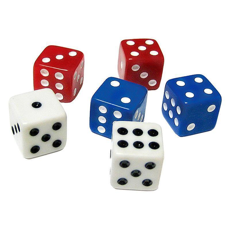 DICE PACK OF 18-Learning Materials-JadeMoghul Inc.