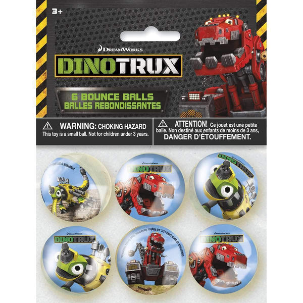 Dinotrux Bounce Balls [6 per Pack]-Toys-JadeMoghul Inc.