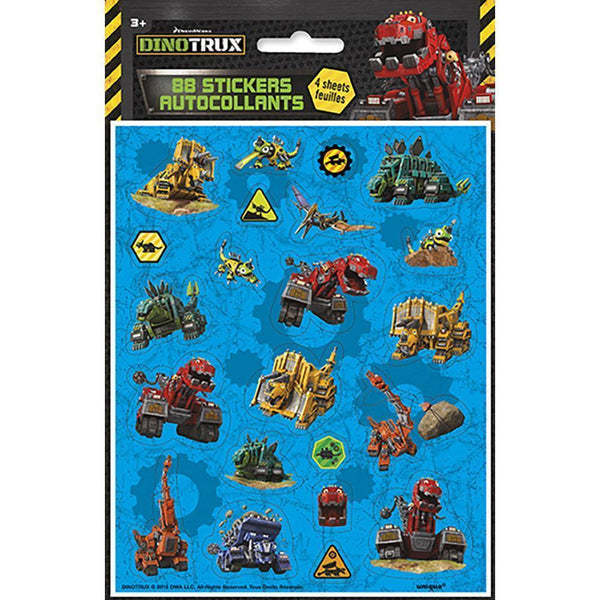 Dinotrux Sticker Sheets [4 per Pack]-Toys-JadeMoghul Inc.