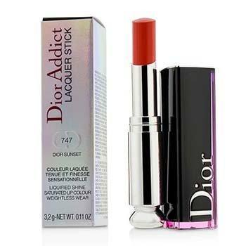 Dior Addict Lacquer Stick - # 747 Dior Sunset - 3.2g/0.11oz-Make Up-JadeMoghul Inc.