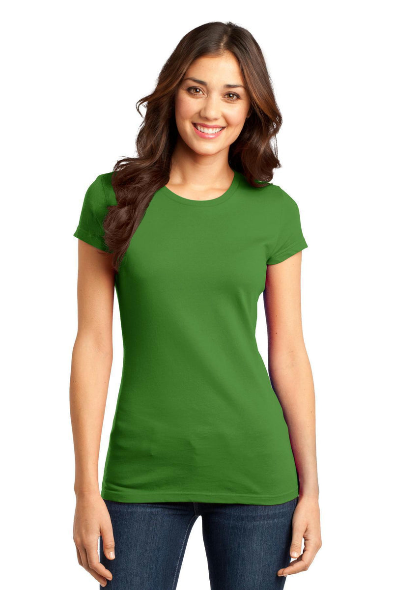 District - Juniors Very Important Tee. DT6001-T-shirts-Kiwi Green-XS-JadeMoghul Inc.