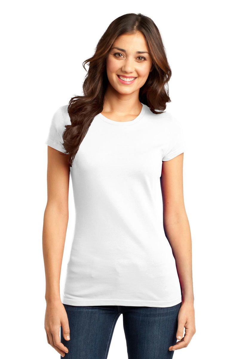 District - Juniors Very Important Tee. DT6001-T-shirts-White-XS-JadeMoghul Inc.