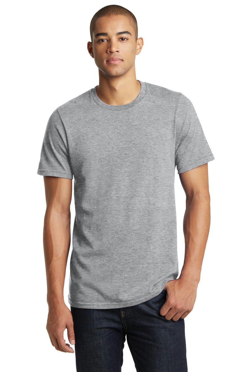 District Young Men's Bouncer Tee. DT7000-T-shirts-Light Heather Grey-4XL-JadeMoghul Inc.