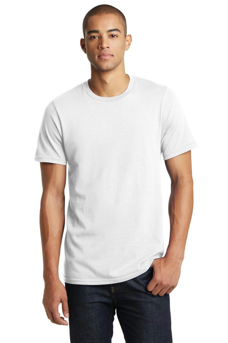 District Young Men's Bouncer Tee. DT7000-T-shirts-White-4XL-JadeMoghul Inc.