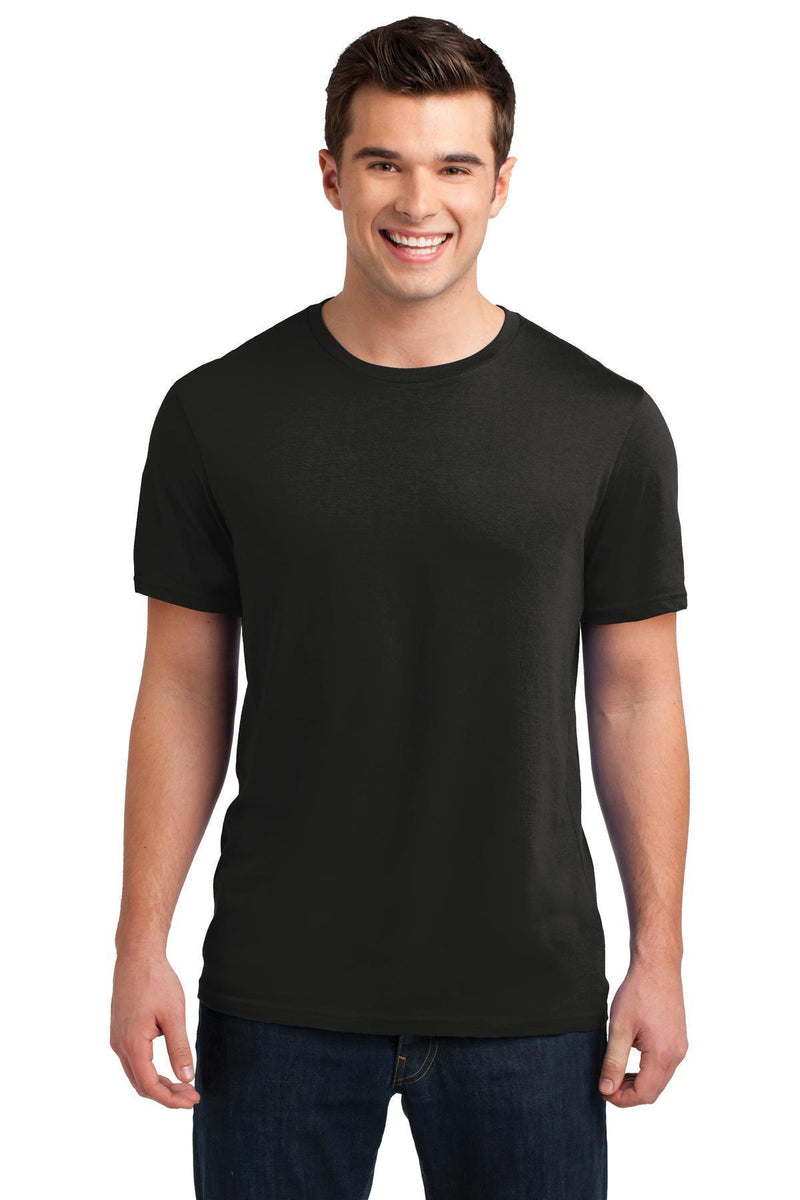 District Young Men's Soft Wash Crew Tee. DT4000-T-shirts-Black-4XL-JadeMoghul Inc.