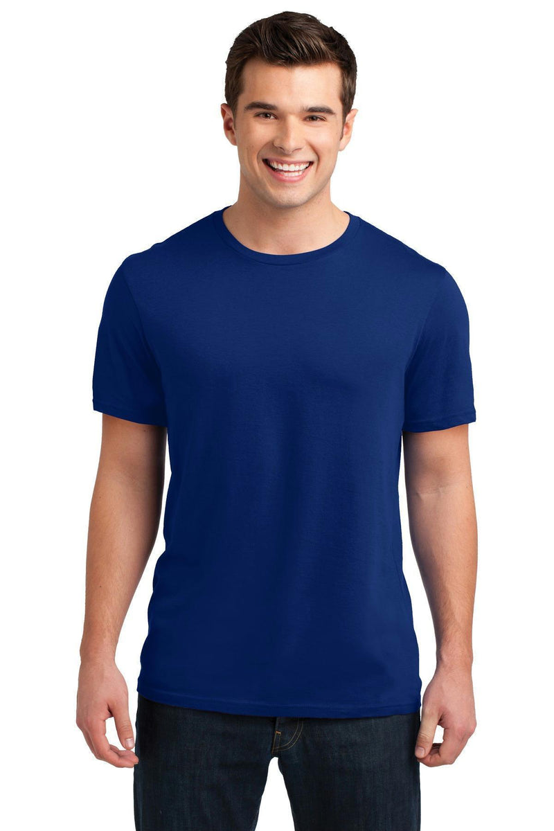 District Young Men's Soft Wash Crew Tee. DT4000-T-shirts-Deep Royal-4XL-JadeMoghul Inc.