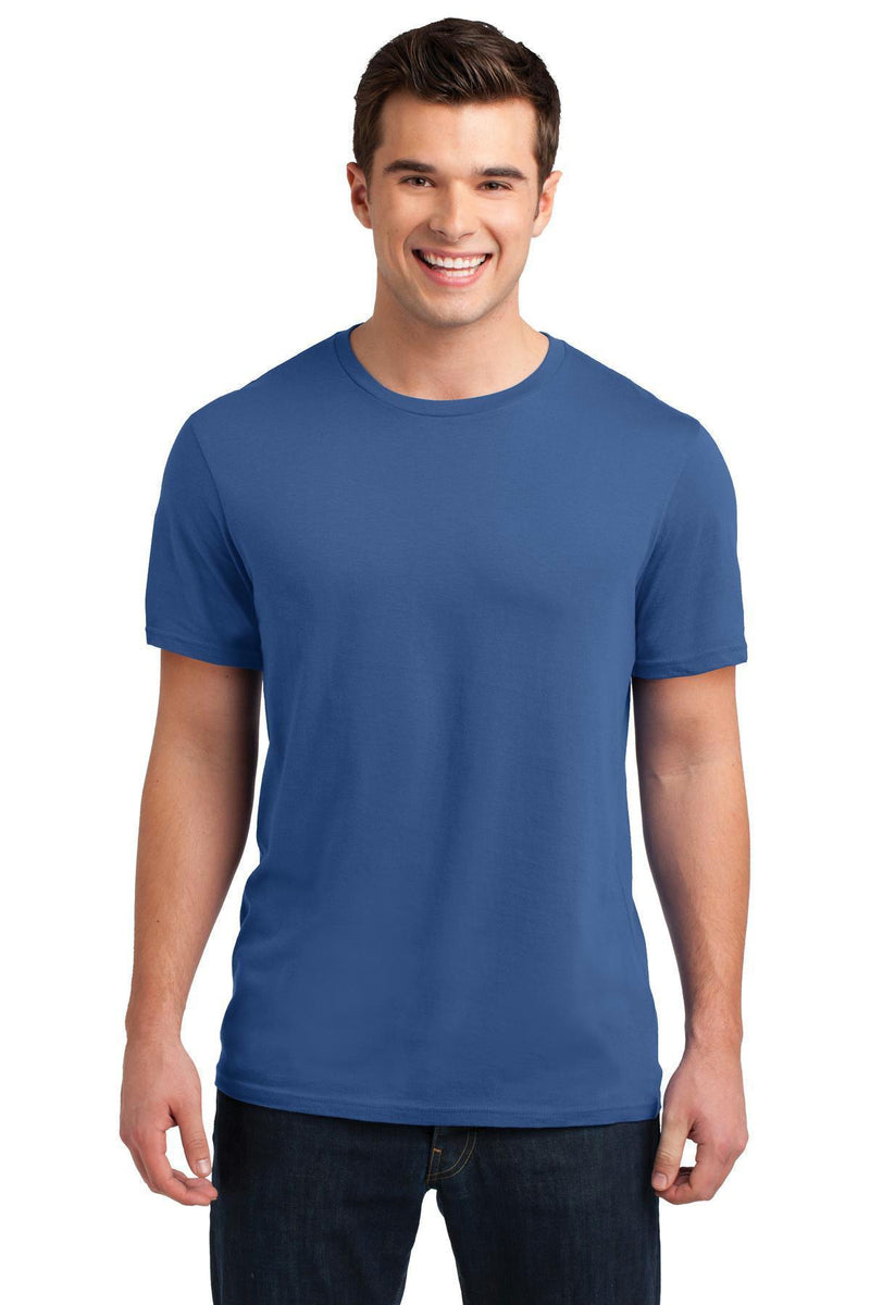 District Young Men's Soft Wash Crew Tee. DT4000-T-shirts-Maritime Blue-4XL-JadeMoghul Inc.