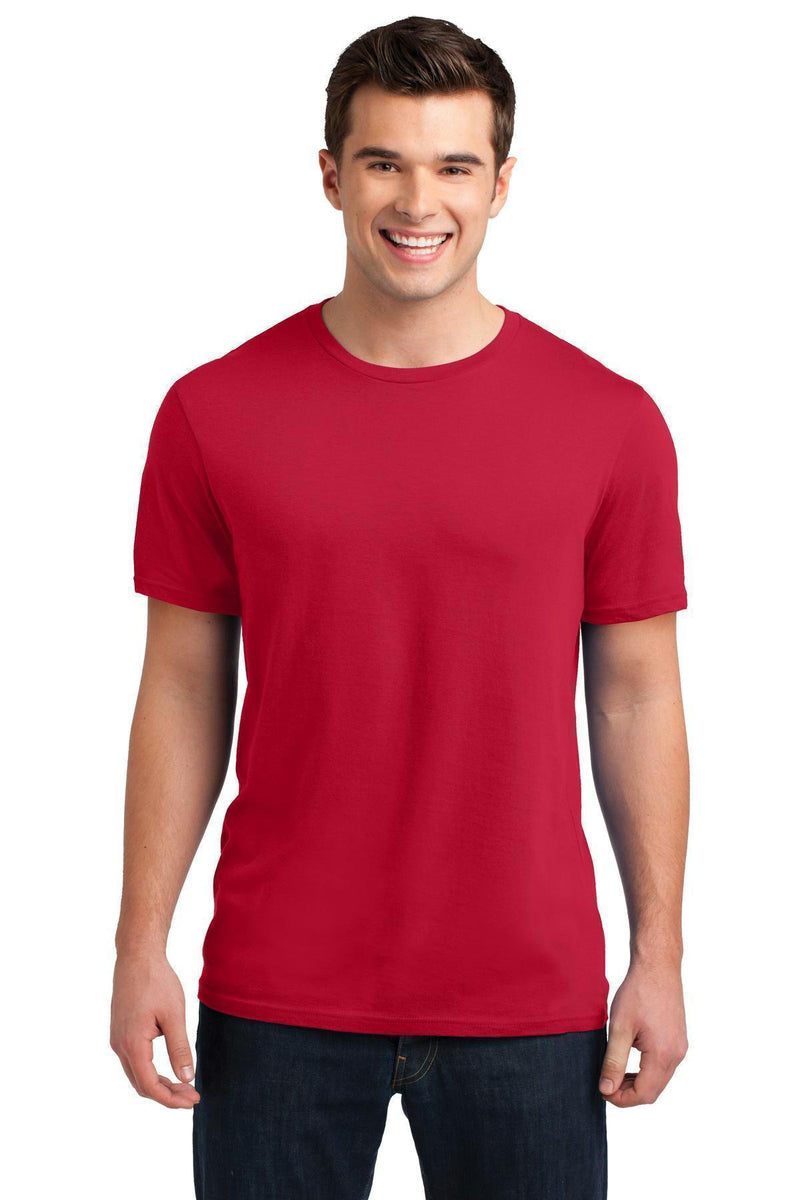 District Young Men's Soft Wash Crew Tee. DT4000-T-shirts-New Red-4XL-JadeMoghul Inc.