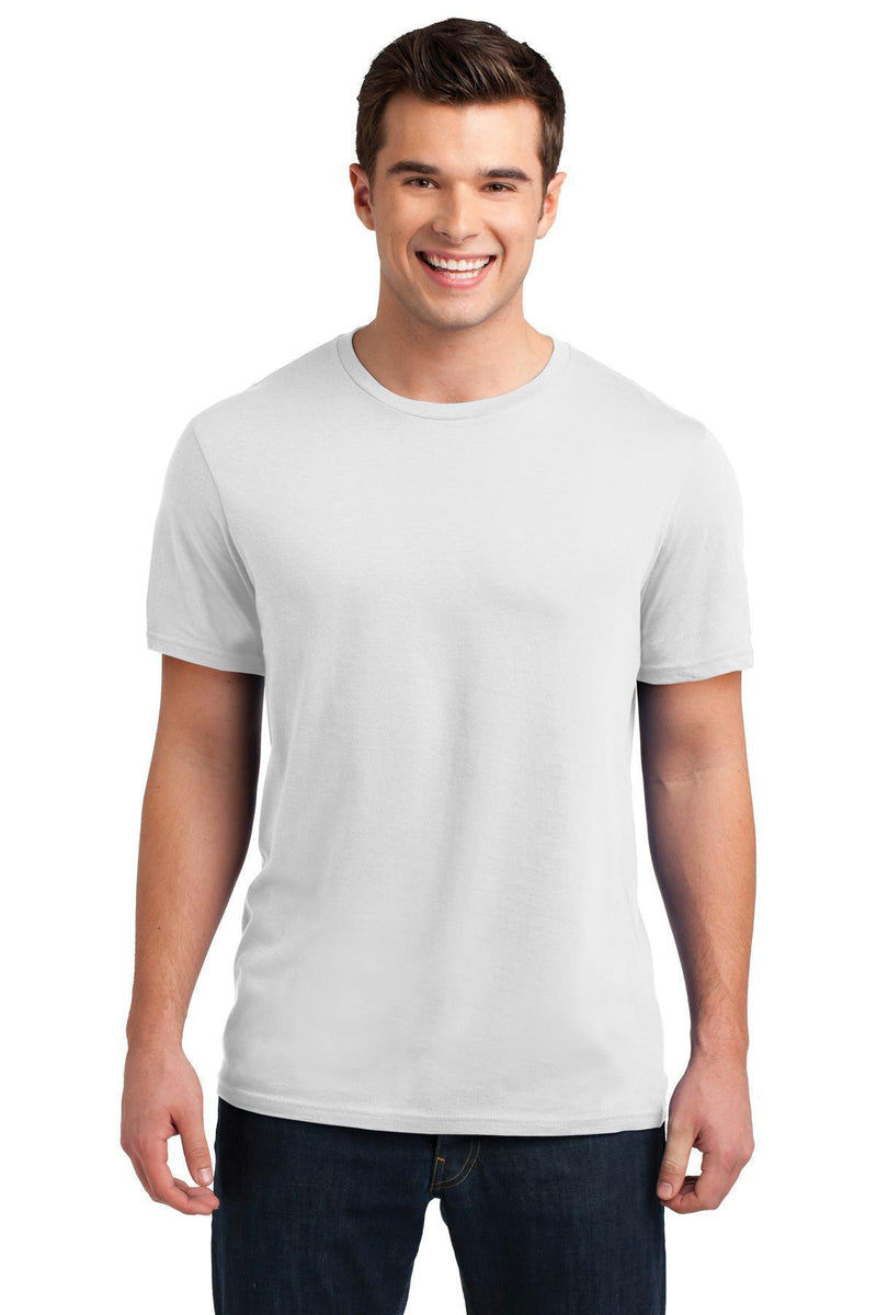 District Young Men's Soft Wash Crew Tee. DT4000-T-shirts-White-4XL-JadeMoghul Inc.