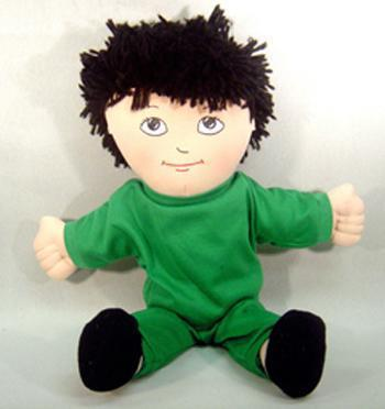 DOLLS ASIAN BOY DOLL SWEAT SUIT-Toys & Games-JadeMoghul Inc.