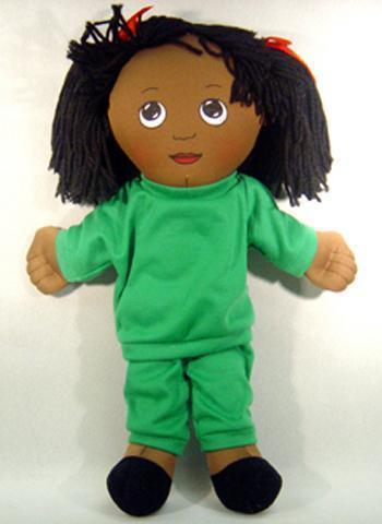 DOLLS BLACK GIRL DOLL SWEAT SUIT-Toys & Games-JadeMoghul Inc.