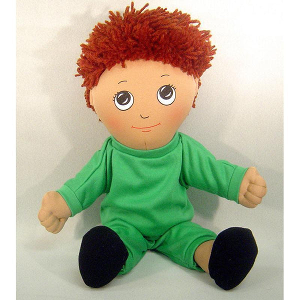 DOLLS HISPANIC BOY DOLL SWEAT SUIT-Toys & Games-JadeMoghul Inc.