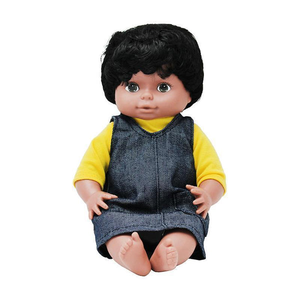 DOLLS MULTI-ETHNIC BLACK GIRL-Toys & Games-JadeMoghul Inc.