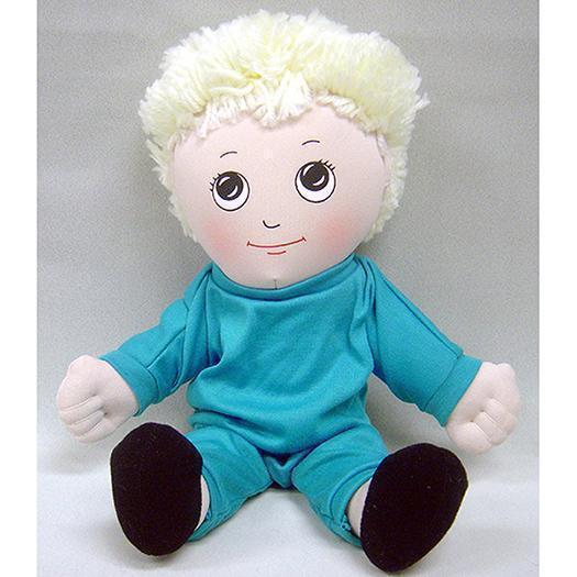 DOLLS WHITE BOY DOLL SWEAT SUIT-Toys & Games-JadeMoghul Inc.