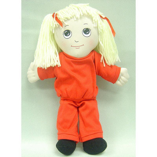 DOLLS WHITE GIRL DOLL SWEAT SUIT-Toys & Games-JadeMoghul Inc.