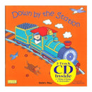DOWN BY THE STATION PAPERBACK & CD-Childrens Books & Music-JadeMoghul Inc.