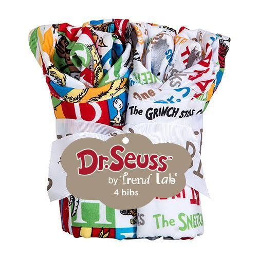 Dr. Seuss Alphabet Seuss 4 Pack Bib Set-S-ALPHA-JadeMoghul Inc.