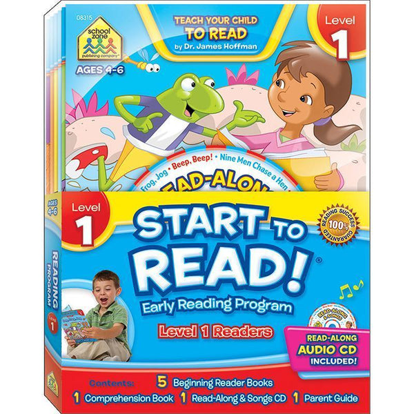 EARLY READING PROGRAM LEVEL 1-Learning Materials-JadeMoghul Inc.