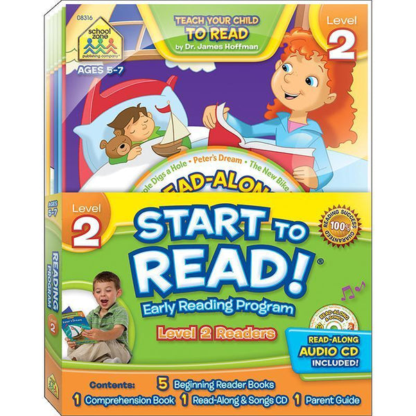 EARLY READING PROGRAM LEVEL 2-Learning Materials-JadeMoghul Inc.