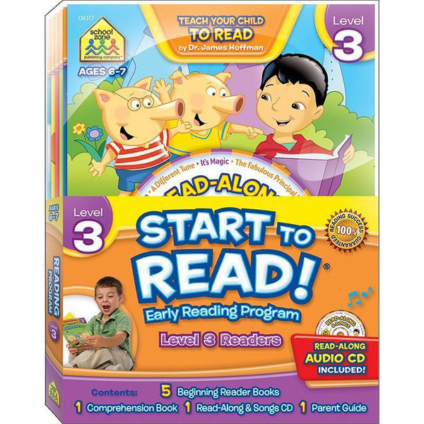 EARLY READING PROGRAM LEVEL 3-Learning Materials-JadeMoghul Inc.