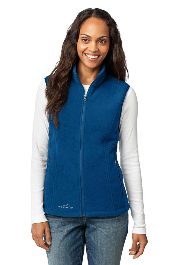 Eddie Bauer - Ladies Fleece Vest. EB205-Sweatshirts/Fleece-Deep Sea Blue-4XL-JadeMoghul Inc.