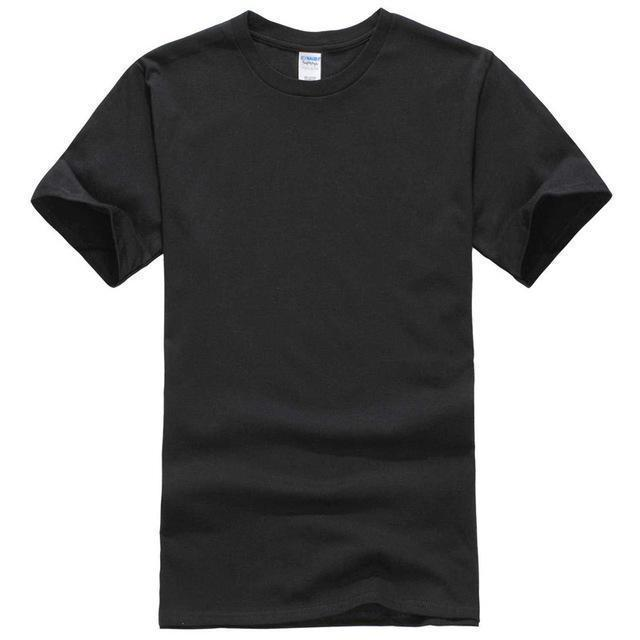 EINAUDI 2017 New Solid Color T Shirt Mens Black And White 100% Cotton T-shirts Summer Skateboard Tee Boy Skate Tshirt Tops ^d64-black-XS-JadeMoghul Inc.