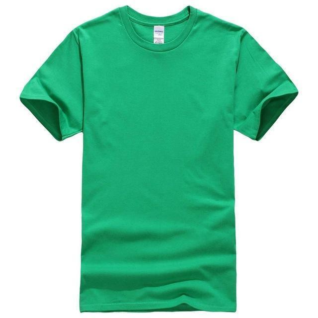 EINAUDI 2017 New Solid color T Shirt Mens Black And White 100% cotton T-shirts Summer Skateboard Tee Boy Skate Tshirt Tops-Green-XS-JadeMoghul Inc.