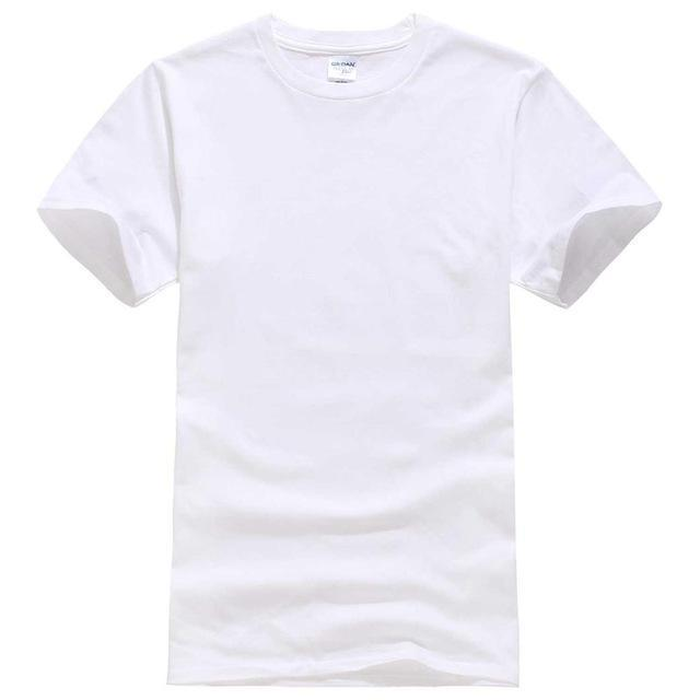EINAUDI 2017 New Solid color T Shirt Mens Black And White 100% cotton T-shirts Summer Skateboard Tee Boy Skate Tshirt Tops-White-XS-JadeMoghul Inc.
