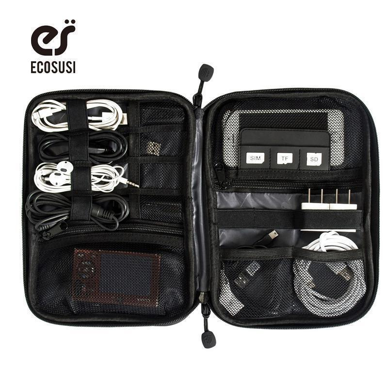 Electronic Accessories Bag / Travel Accessories Bag-Black-China-JadeMoghul Inc.