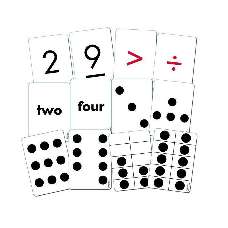 ESSENTIAL NUMBER CARDS GR K-2-Learning Materials-JadeMoghul Inc.