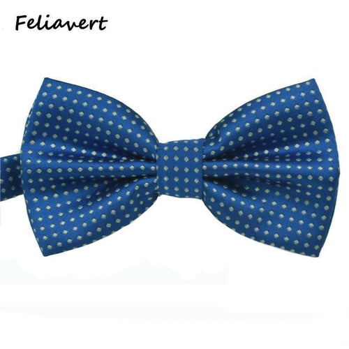 Fashion Bow Tie 2016 New Formal Party Apparel Accessory Mens Ties Spot Style Multicolor Butterfly Polyester Dot gents Bowtie-JadeMoghul Inc.