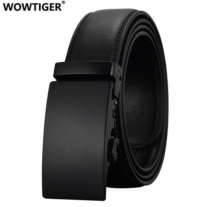 Fashion Designers Men Automatic Buckle Leather Luxury Belt-A-110cm-JadeMoghul Inc.