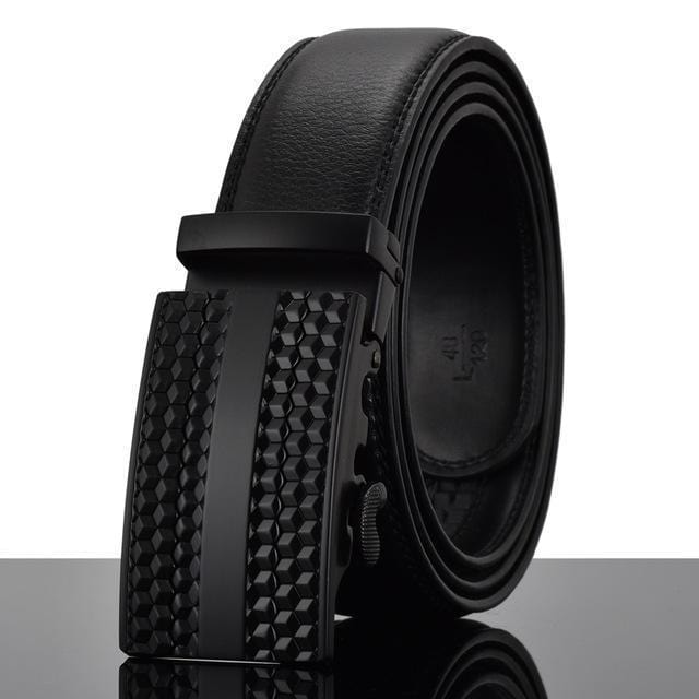 Fashion Designers Men Automatic Buckle Leather Luxury Belt-Y-110cm-JadeMoghul Inc.