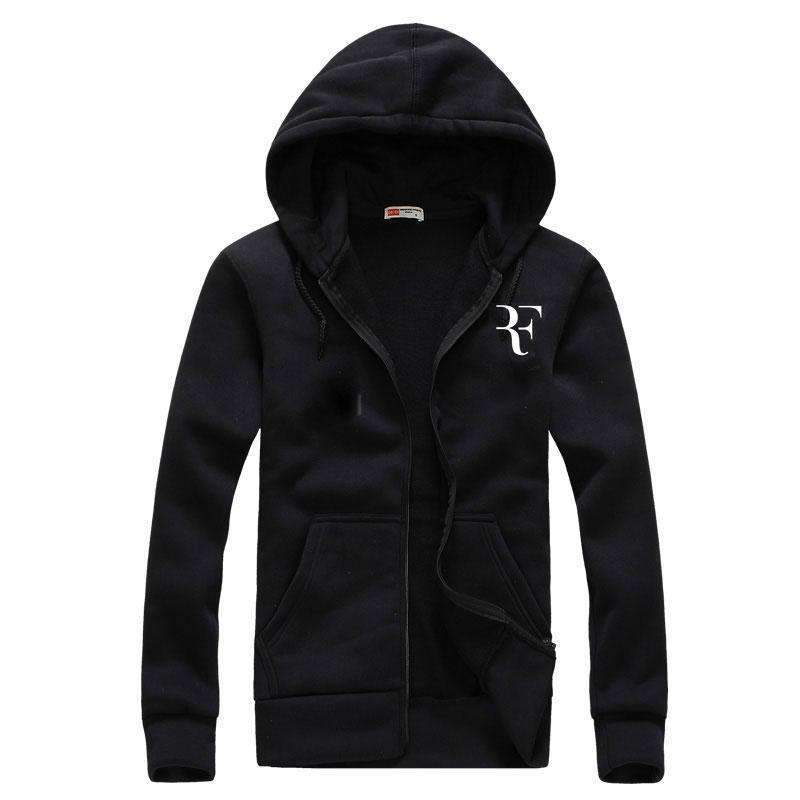 Fashion Print Hoodies - Men Casual Sweatshirts-black-M-JadeMoghul Inc.