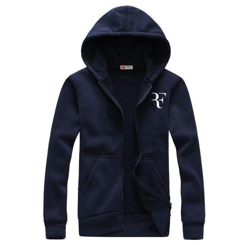Fashion Print Hoodies - Men Casual Sweatshirts-navy-M-JadeMoghul Inc.