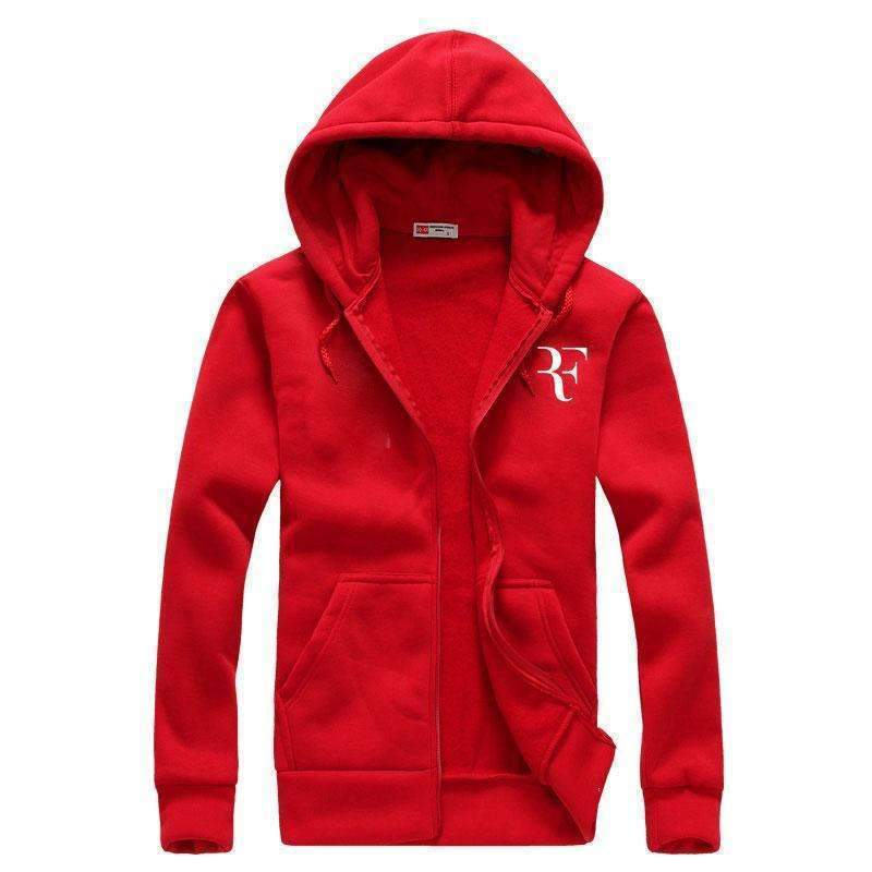 Fashion Print Hoodies - Men Casual Sweatshirts-red-M-JadeMoghul Inc.