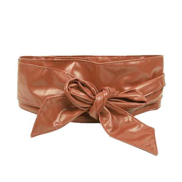 Fashionable Women Elegant Leather Wrap Around Waistband-3-JadeMoghul Inc.