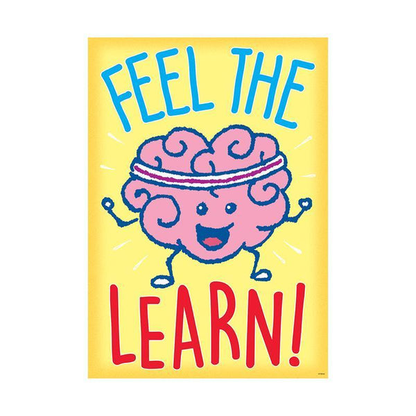FEEL THE LEARN ARGUS POSTER-Learning Materials-JadeMoghul Inc.