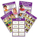 FEELINGS 5PK POSTERS-Learning Materials-JadeMoghul Inc.