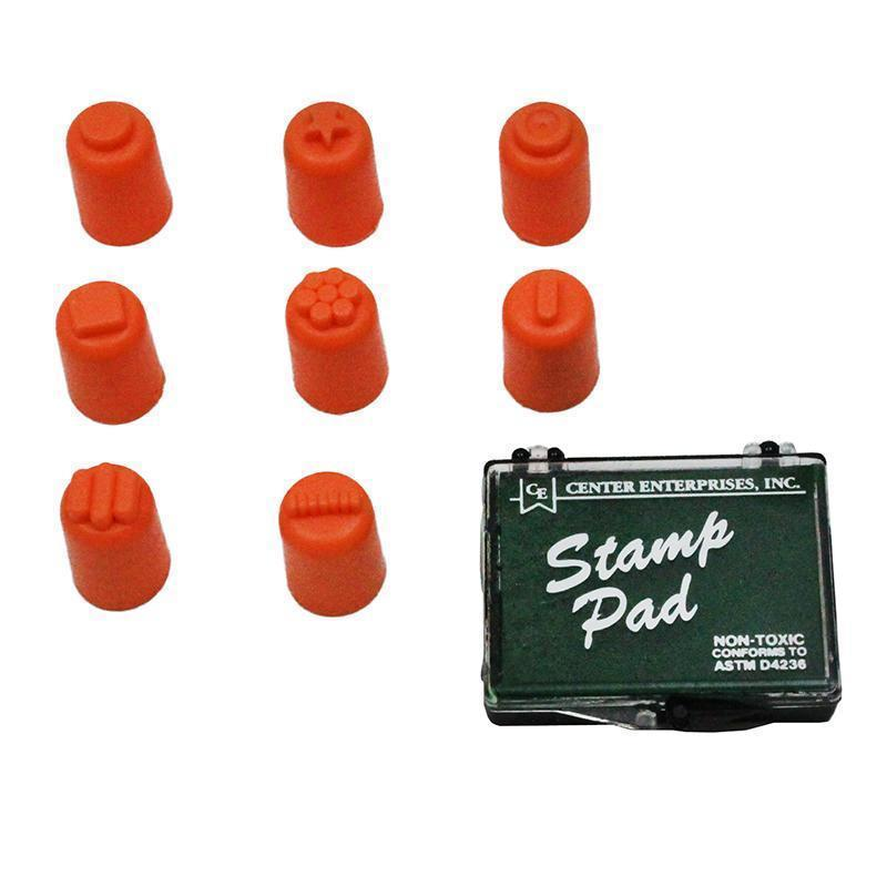 FINGER PAINTERS/STAMPERS SET OF 8-Supplies-JadeMoghul Inc.
