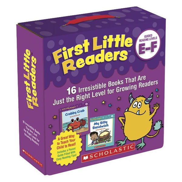 FIRST LITTLE READERS PARENT PACK-Learning Materials-JadeMoghul Inc.