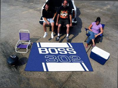 FORD Sports - Boss 302 Ulti-Mat 5'x8' - Blue-Ulti-mat-JadeMoghul Inc.