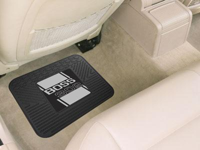 "FORD Sports - Boss 302 Utility Car Mat 14""x17"" - Gray-Utility Mat-JadeMoghul Inc."