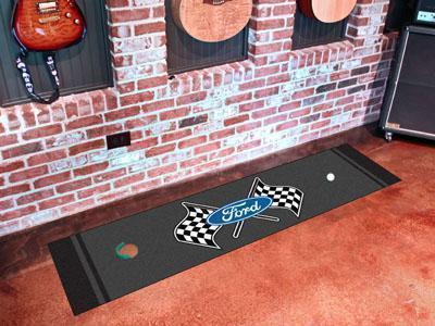 "FORD Sports - Ford Flags Putting Green 18""x72"" - Golf Accessory-Putting Green Mat-JadeMoghul Inc."