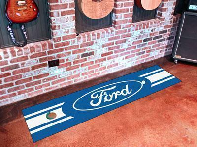 "FORD Sports - Ford Oval Putting Green 18""x72"" - Golf Accessory-Putting Green Mat-JadeMoghul Inc."
