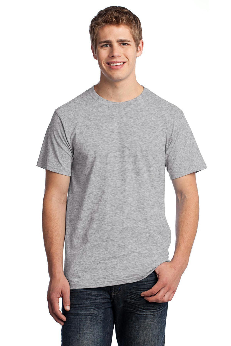 Fruit of the Loom HD Cotton 100% Cotton T-Shirt. 3930-T-shirts-Athletic Heather*-XL-JadeMoghul Inc.