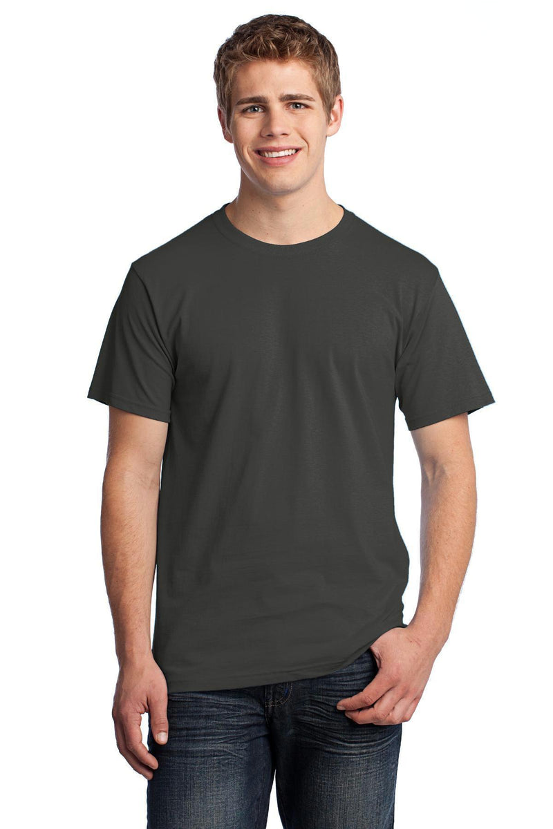 Fruit of the Loom HD Cotton 100% Cotton T-Shirt. 3930-T-shirts-Charcoal Grey-4XL-JadeMoghul Inc.
