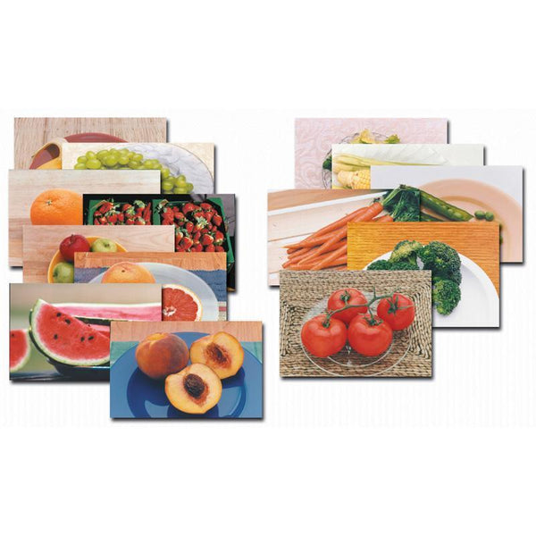 FRUITS & VEGETABLES POSTER SET-14-Learning Materials-JadeMoghul Inc.